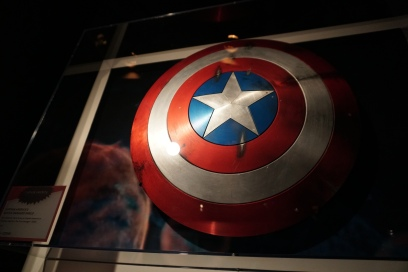 Captain America's shield from the first movie.